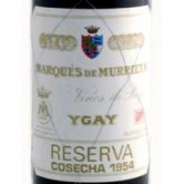 MARQUES DE MURRIETA Ygay Reserva 1954