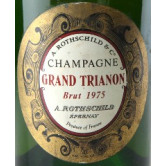 ROTHSCHILD ALFRED Cuvée Grand Trianon 1975