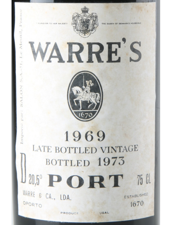 WARRE LATE BOTTLED 1969