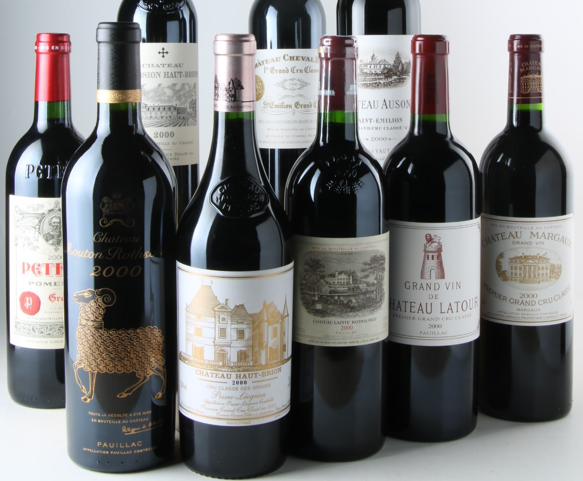 The Greatest Bordeaux Wines